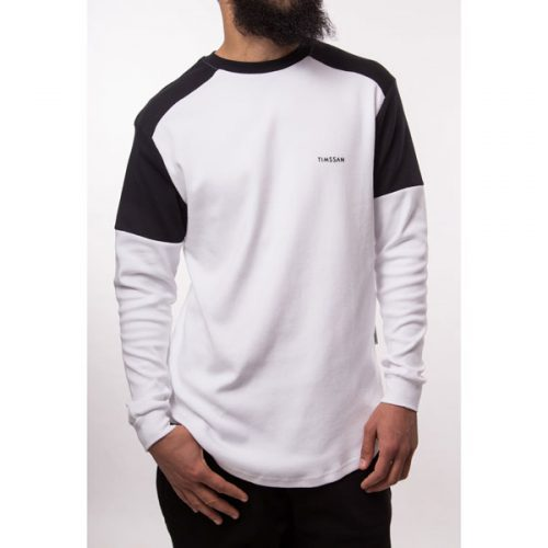 sweat premium blanc noir