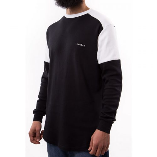 sweat premium noir blanc