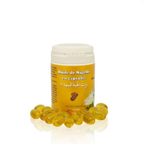 capsules huile de nigelle