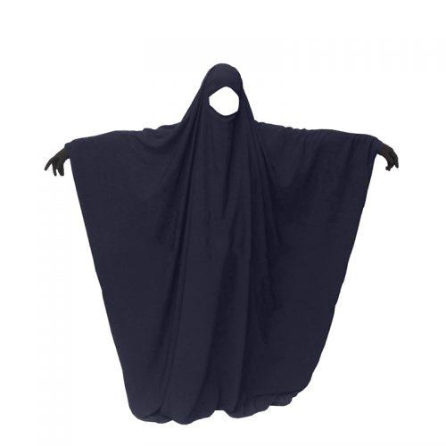 Jilbeb 1pcs saoudien gris bleu