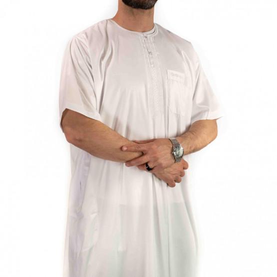 qamis blanc